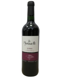 Terroirs Vivants La Marouette Syrah rouge 75cL
