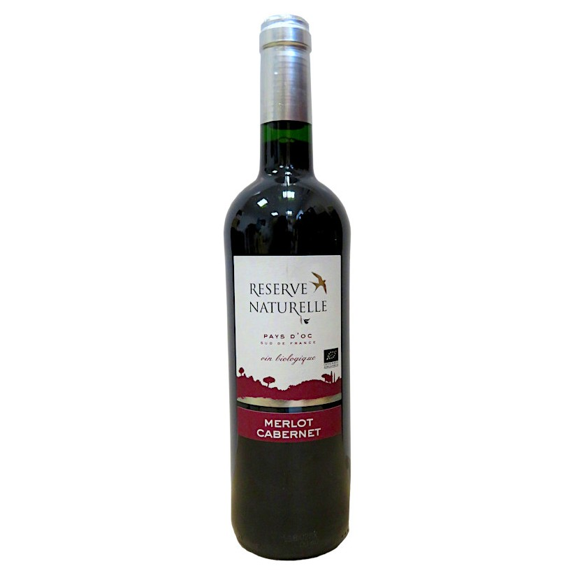 Terroirs Vivants Réserve Naturelle Merlot Cabernet 2015 Rouge 75cL